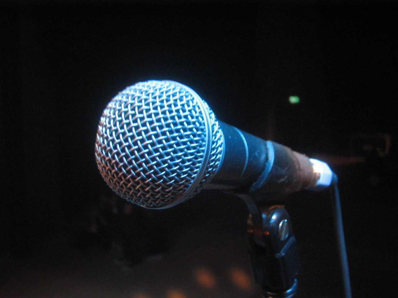 Mikrofon do śpiewania karaoke